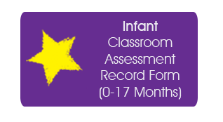 Infant Classroom Assessment Record Form