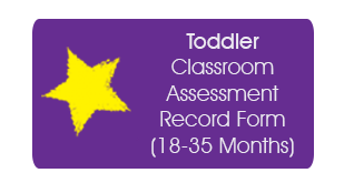 Toddler Classroom Assessment Record Form